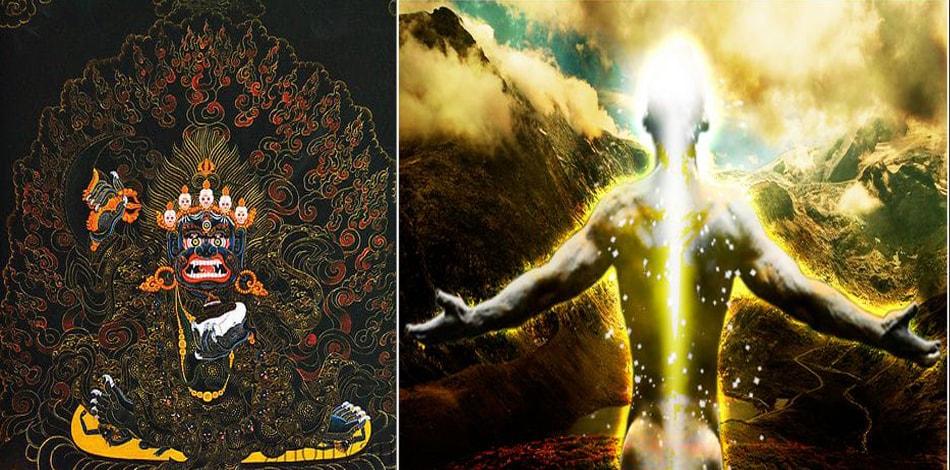 खेचरी मुद्रा : हिन्दु बौद्ध