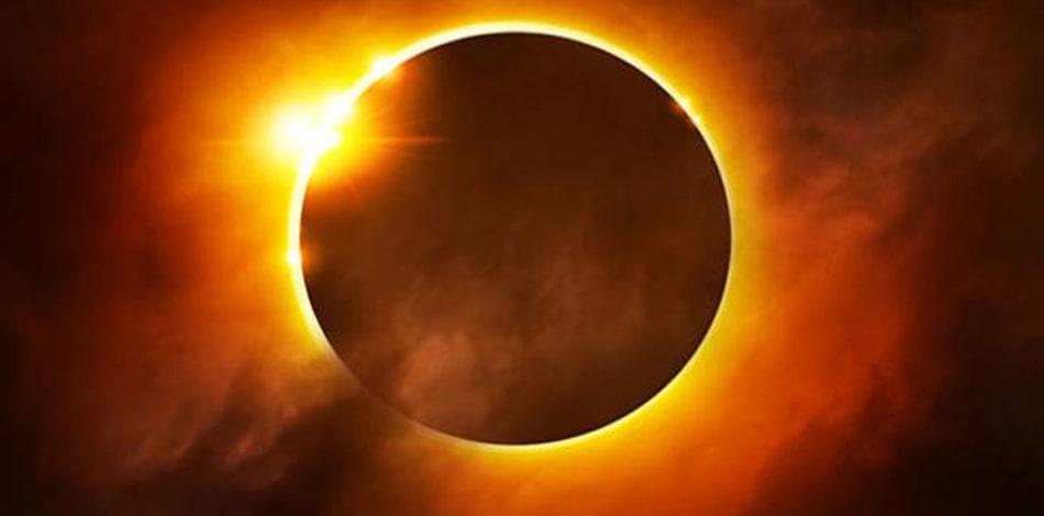 आज खण्डग्रास सूर्यग्रहण